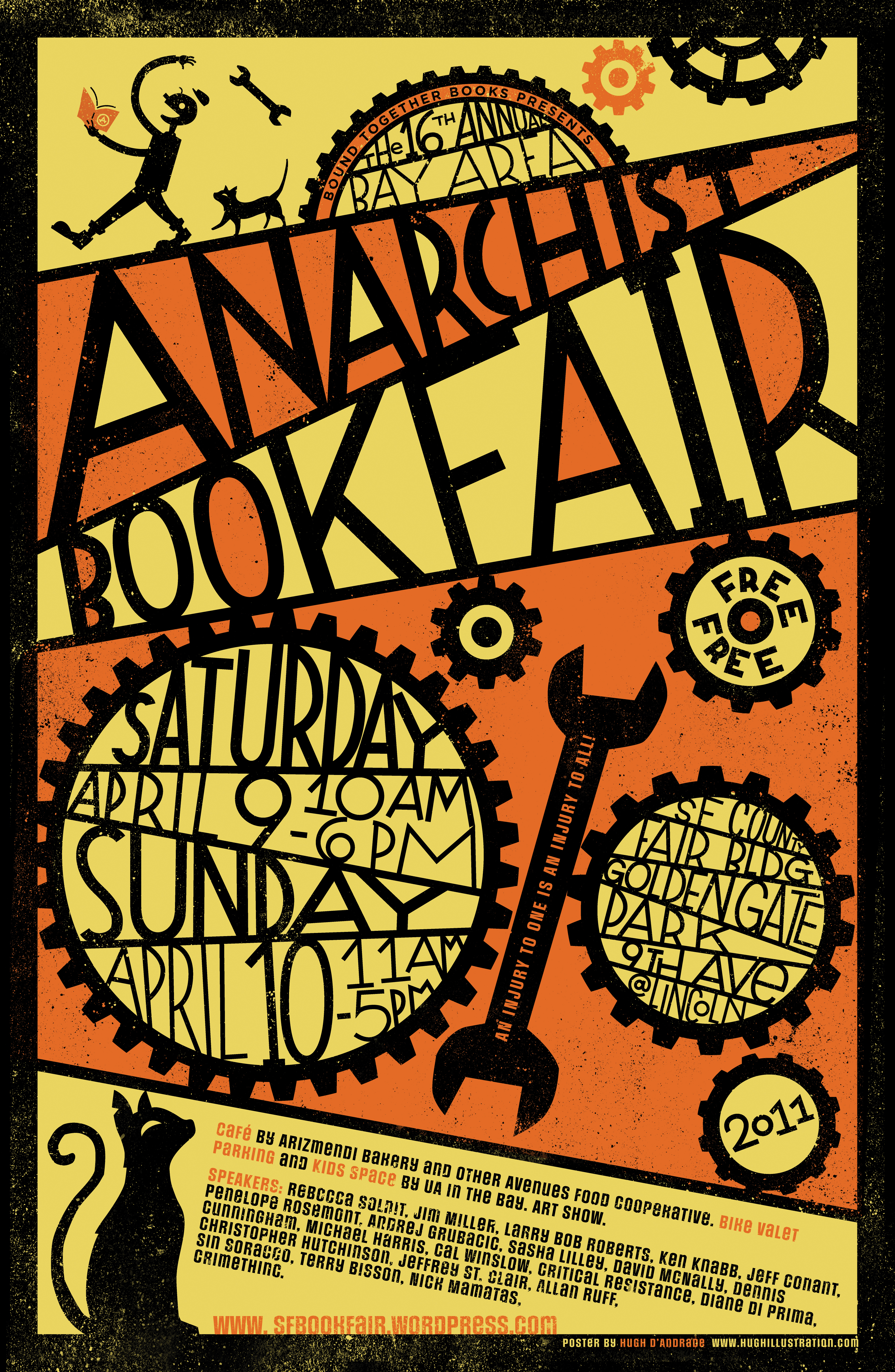 Bay Area Anarchist Book FairBook Fair Poster Gallery