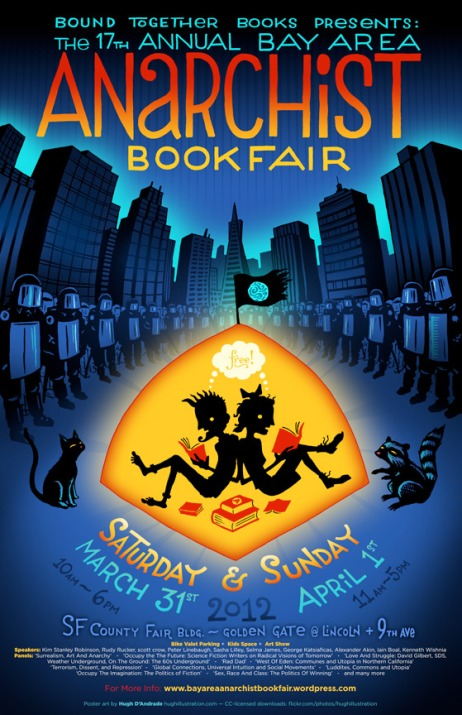 Anarchist Book Fair Poster 2012